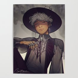 Witch Yoongi Poster