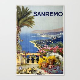 San Remo Canvas Print