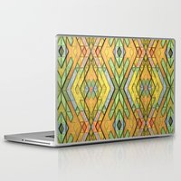 deco Laptop & iPad Skins featuring Deco Diamonds by Lyle Hatch