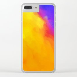 Flame Thrower Clear iPhone Case