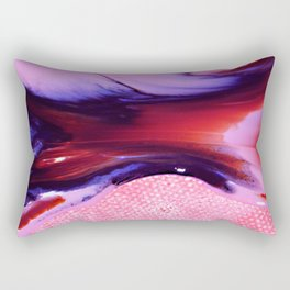 Liquid Harmony Rectangular Pillow