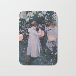 Carnation, Lily, Lily, Rose Bath Mat