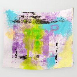 Abstract Life Wall Tapestry