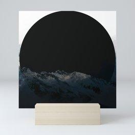dark moon Mini Art Print