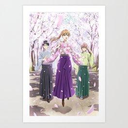 Chihayafuru poster TV Series.TV anime poster,Canvas poster Art Print