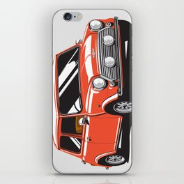 Mini Cooper Car - Red iPhone Skin