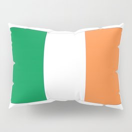 Irish flag -ireland,eire,airlann,irish,gaelic,eriu,celtic,dublin,belfast,joyce,beckett Pillow Sham