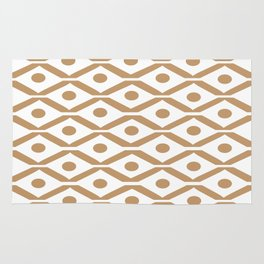 Light Brown Chevron Rug