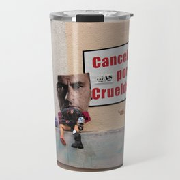 Cancelado por Crueldade Travel Mug