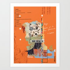 forajido 2 Art Print