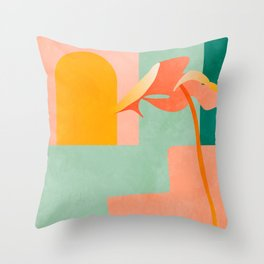 tropical geometry Throw Pillow