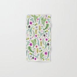 Ferns and Flowers Hand & Bath Towel