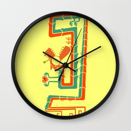 Fracktail Wall Clock