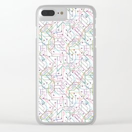 London Subway Clear iPhone Case