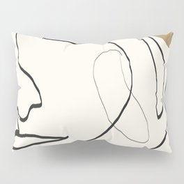 Abstract Face Pillow Sham