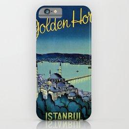 Golden Horn Istanbul iPhone Case