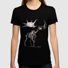 Irish Elk Skeleton T-shirt