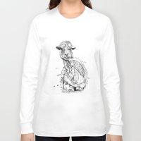 llama Long Sleeve T-shirts featuring Llama by ARI(Sunha Jung)