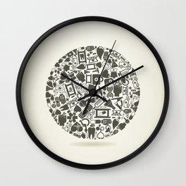 Medicine a sphere Wall Clock