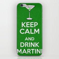 Keep Calm - Martini - Saint Patrick's Day Poster 03 iPhone & iPod Skin