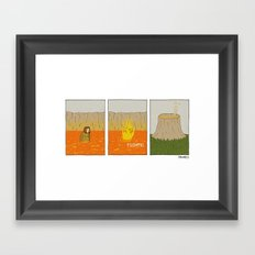 FOOMPH Framed Art Print