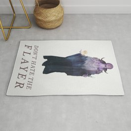 Mind Flayer (Typography) Rug