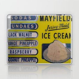 Vintage Ice Cream Sign 2 Laptop & iPad Skin