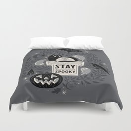 Stay Spooky Duvet Cover