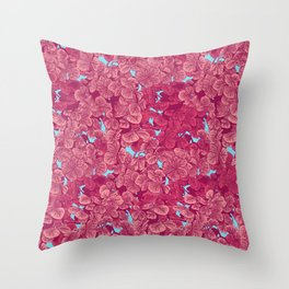 Blossoms I Throw Pillow