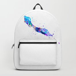 Curacao Map Backpack