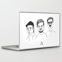 cactei Laptop & iPad Skins featuring ∆∆∆ by ☿ cactei ☿