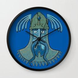 Celtic warrior Wall Clock