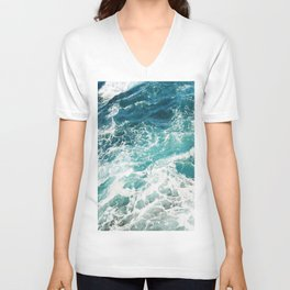 Sea Foam  Unisex V-Neck