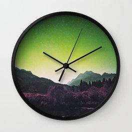 Lakeside Greens Wall Clock