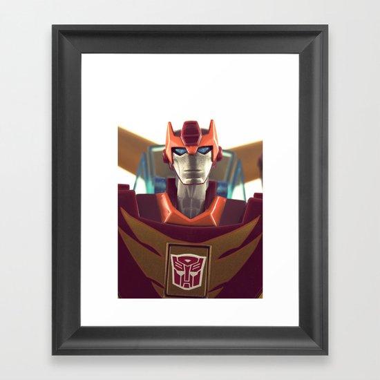 Rodimus Minor Framed Art Print