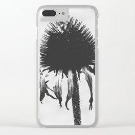 Withered Clear iPhone Case