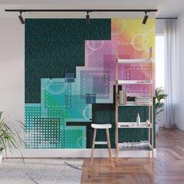 Abstract Tech Wall Mural
