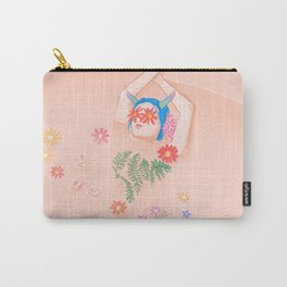 Flower Bath Carry-All Pouch