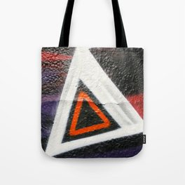 Double Triangle  Tote Bag