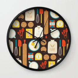 Cookie Party Wall Clock