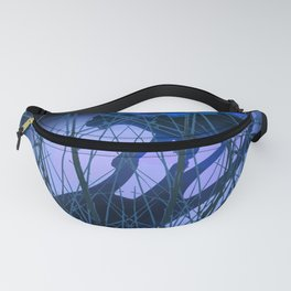 The Wandering Tiger, for duvet  Fanny Pack