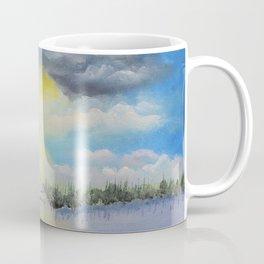 Michigan Pines at Sunset Coffee Mug