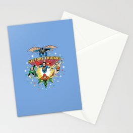 History Friends Stationery Cards