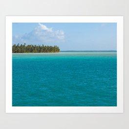 Kiribati Art Print