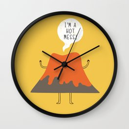 hot mess! Wall Clock