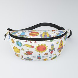 Outer space cosmos pattern Fanny Pack