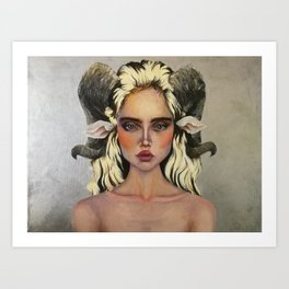Feeling Sheepish Art Print