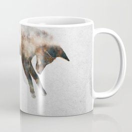 Jumping Fox Coffee Mug