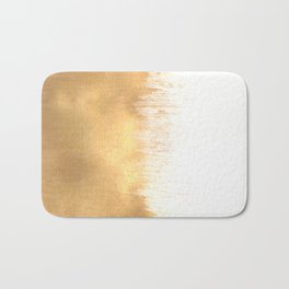 Brushed Gold Bath Mat