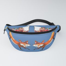 Hunt Flowers Not Foxes Two Fanny Pack